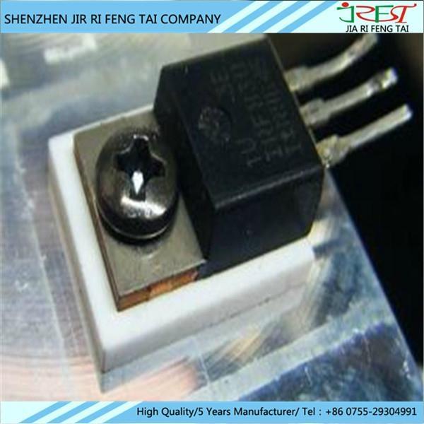 絕緣氧化鋁陶瓷片 IGBT高頻便攜式逆變直流電焊機絕緣陶瓷片專用 3