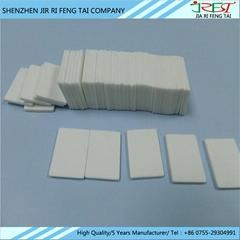 陶瓷片 氧化鋁陶瓷基片,氧化96氧化鋁陶瓷0.6MM*20MM*25MM無孔