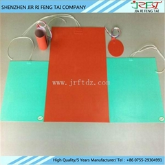 Flexible Electric Silicone Rubber Insulated Wire Wound Heater Film