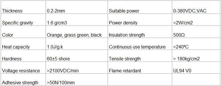 硅膠加熱帶 硅膠發熱板 電熱板 電熱器 加熱器加熱膜 5