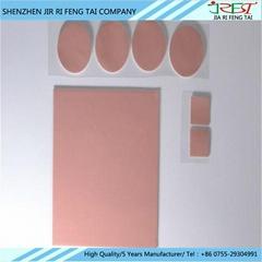 厂家生产防刺穿玻纤导热硅胶片  LED导热硅胶垫片 耐高温绝缘