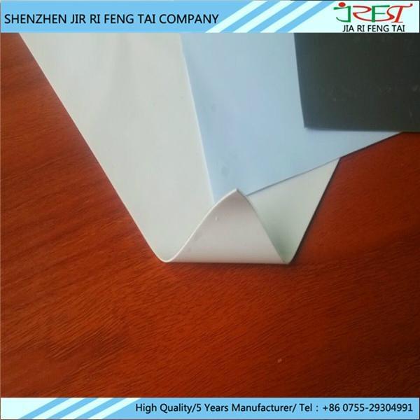 导热胶片 耐高温绝缘导热硅胶片 SGS UL认证 厂家加工订做 1