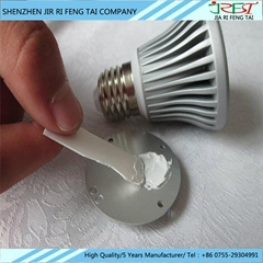Heat dissipation silicone thermal grease for LED light
