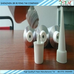 One component silicone rubber adhesive