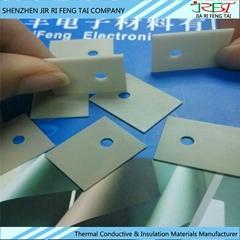 散熱氮化鋁陶瓷片 絕緣高導熱氮化鋁170w/m.k