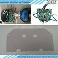导热矽胶片95*145*0.3MM 扭扭车矽胶片 硅胶软垫片 散热绝缘布 4