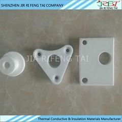 異型氧化鋁陶瓷 可定做抽油煙機散熱氧化鋁陶瓷