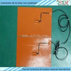 防水電子硅膠加熱膜 硅膠加熱墊 加熱片