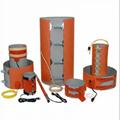 煤氣硅膠加熱膜 油桶硅橡膠加熱墊 硅膠加熱板 4