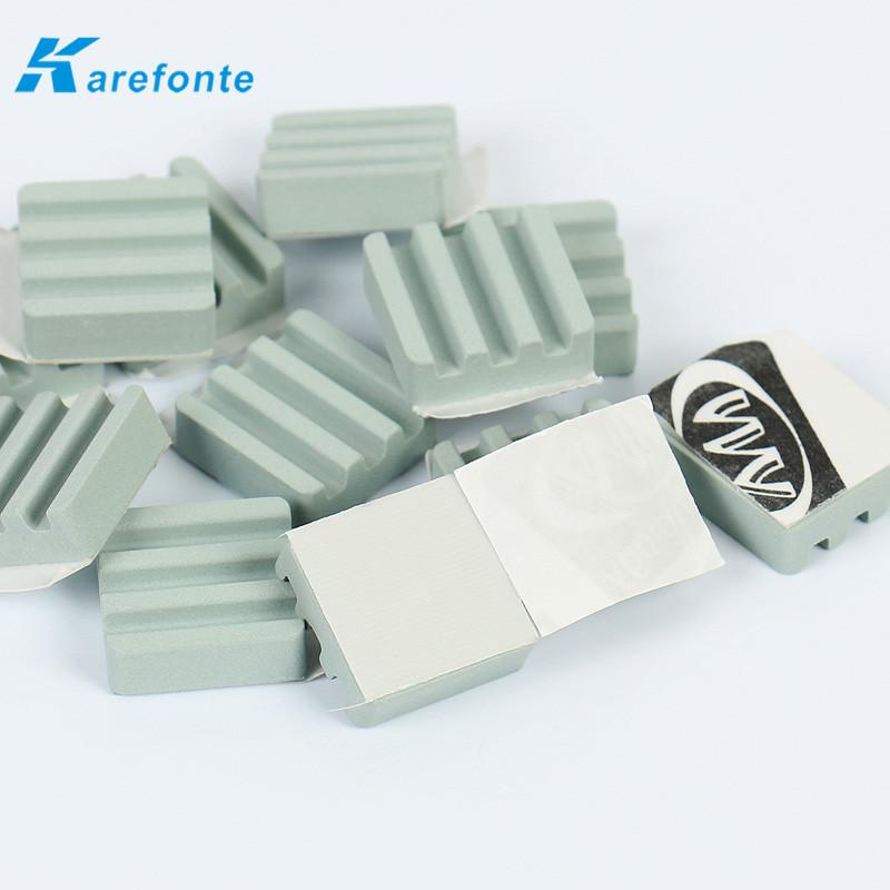 宽频分享器 机顶盒应用SiC 陶瓷散热片 绝缘导热碳化硅陶瓷 1