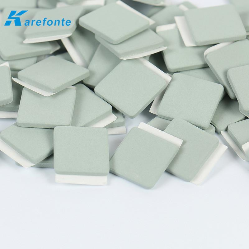 碳化硅导热陶瓷片 LED电源模组应用碳化硅陶瓷单面背胶 1