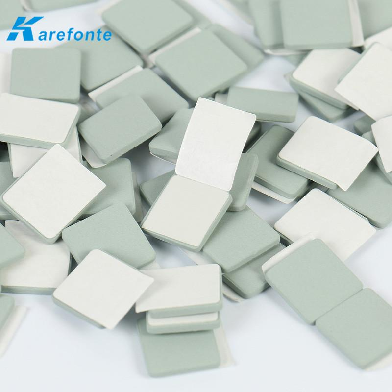 碳化硅导热陶瓷片 LED电源模组应用碳化硅陶瓷单面背胶 2