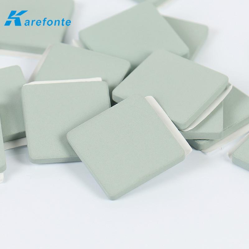 單面背膠碳化硅陶瓷片CPU散熱專用SiC碳化硅陶瓷基片 5