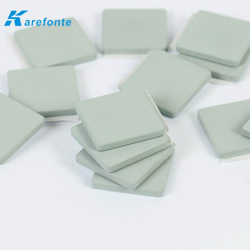 单面背胶碳化硅陶瓷片CPU散热专用SiC碳化硅陶瓷基片 1