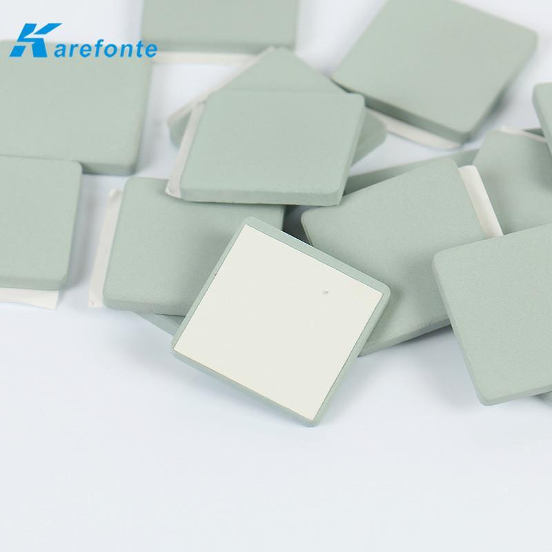 单面背胶碳化硅陶瓷片CPU散热专用SiC碳化硅陶瓷基片 2