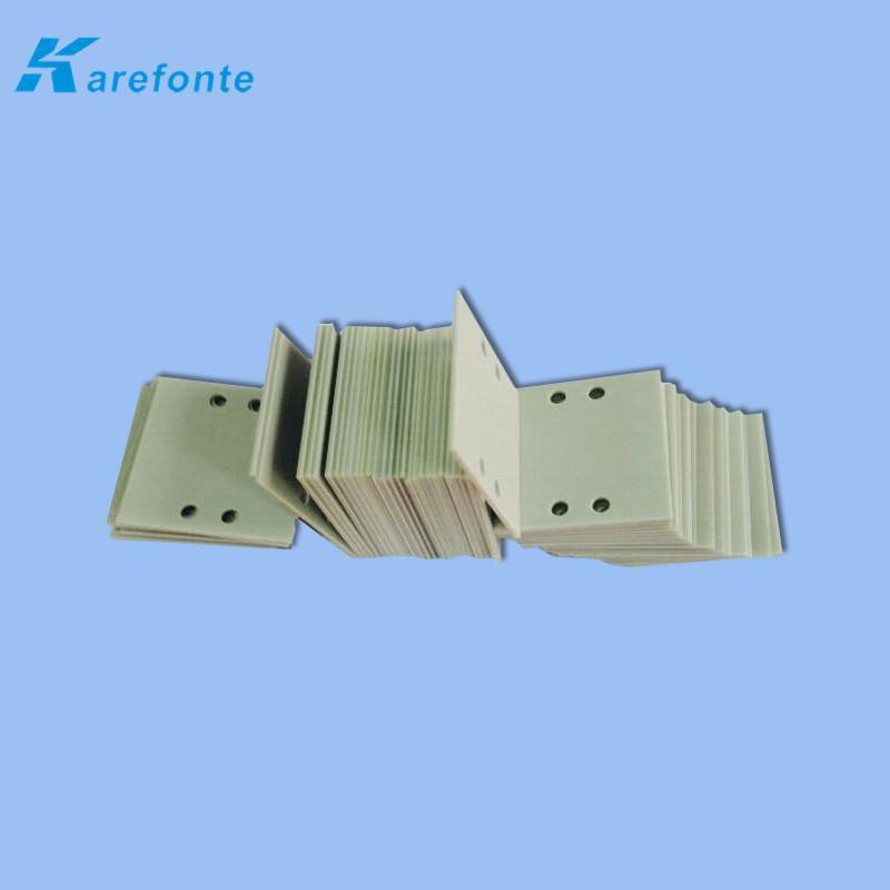 可定製氮化鋁絕緣散熱片 高導熱氮化鋁 氮化鋁陶瓷基片 1