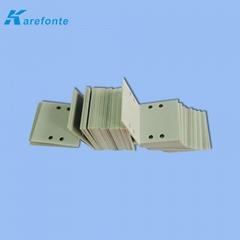 可定制氮化铝绝缘散热片 高导热氮化铝 氮化铝陶瓷基片