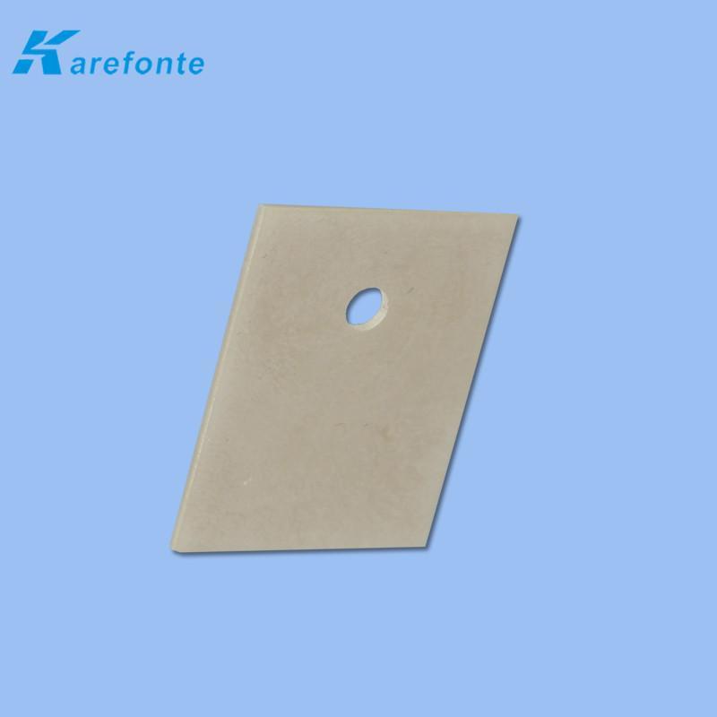 可定制氮化铝绝缘散热片 高导热氮化铝 氮化铝陶瓷基片 2