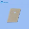 可定製氮化鋁絕緣散熱片 高導熱氮化鋁 氮化鋁陶瓷基片 2