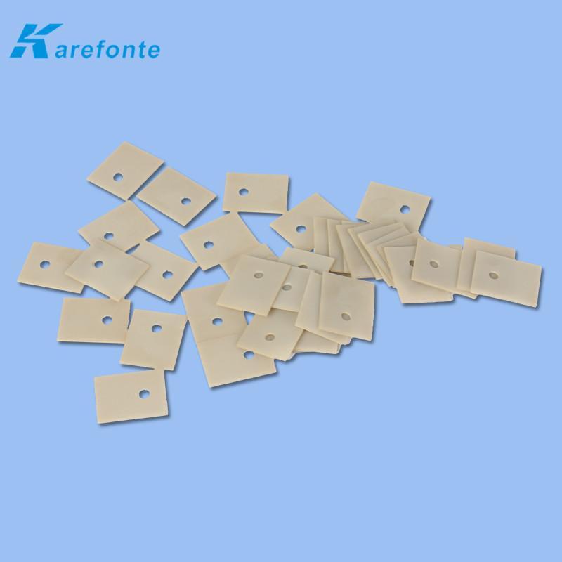 耐高温氮化铝陶瓷垫片高导热氮化铝基片 3