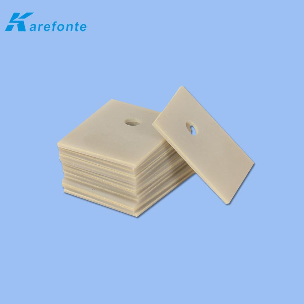 耐高温氮化铝陶瓷垫片高导热氮化铝基片 4