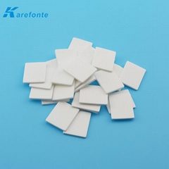 Thermal Ceramic 96 %  TO-3P Alumina Ceramic Plate Without Hole 0.6MM*20MM*25MM