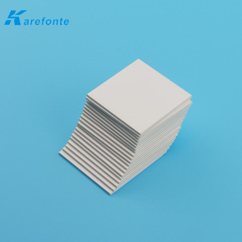 Thermal Ceramic 96% TO-3P 0.6MM*20MM*25MM Alumina Ceramic Plate Without Hole   2