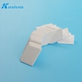 Thermal Ceramic 96% TO-3P 0.6MM*20MM*25MM Alumina Ceramic Plate Without Hole   3