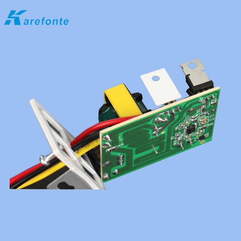 绝缘氧化铝陶瓷片 IGBT高频便携式逆变直流电焊机绝缘陶瓷片专用 2