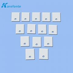绝缘氧化铝陶瓷片 IGBT高频便携式逆变直流电焊机绝缘陶瓷片专用