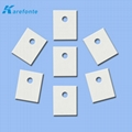 High Thermal Alumina Ceramic Gasket With 1MM*20MM*25MM With hole  2