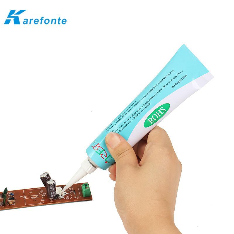 防水绝缘硅胶耐温白色密封胶RTV硅胶 1