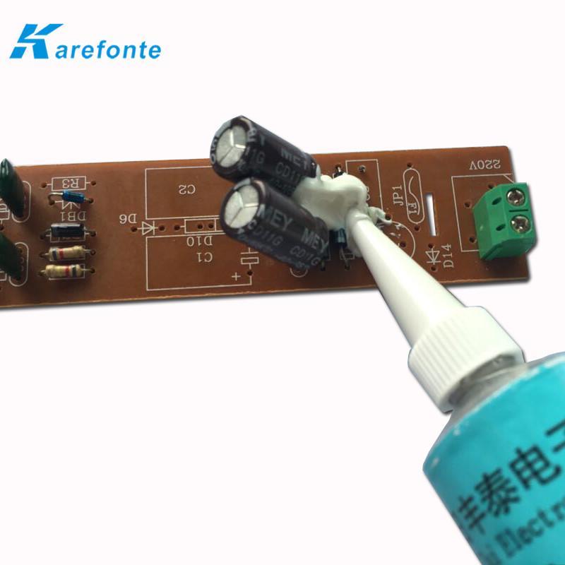 電子灌封膠 室溫固化單組分有機硅粘接灌封膠 硅橡膠水 2