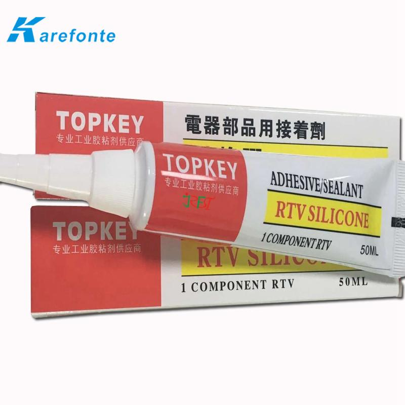 Electronic single component RTV silicone adhesive sealant / glue 1
