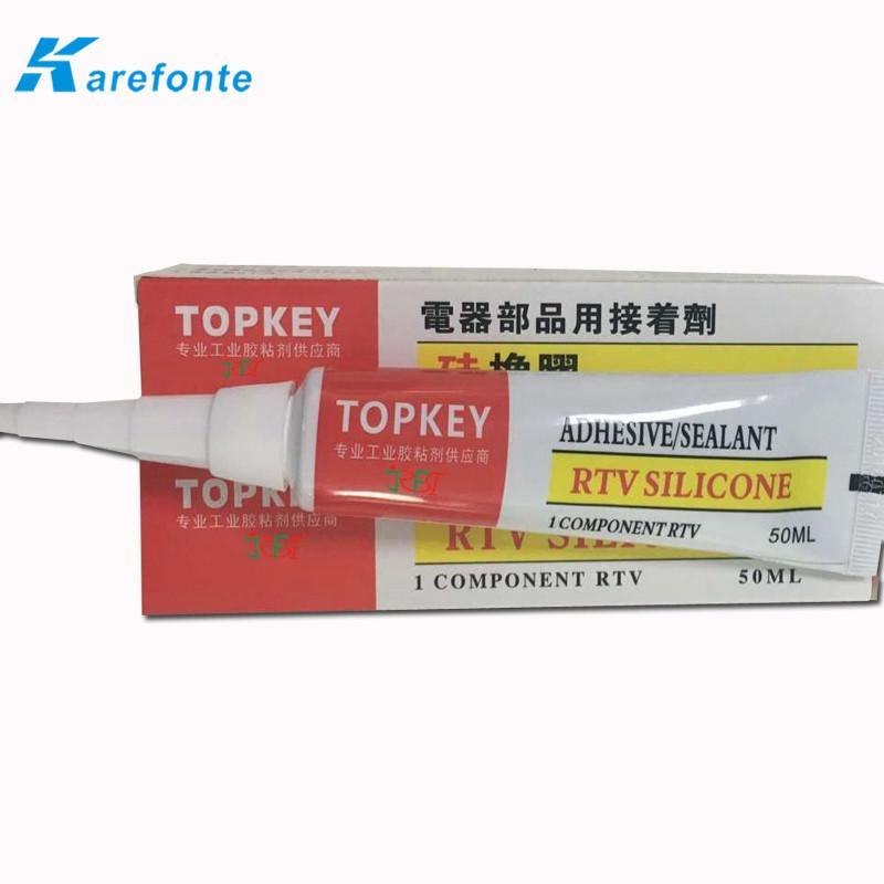 Electronic single component RTV silicone adhesive sealant / glue 3