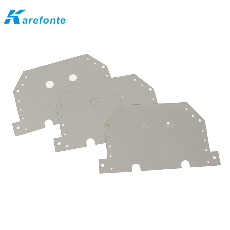 导热矽胶片95*145*0.3MM 扭扭车矽胶片 硅胶软垫片 散热绝缘布 1