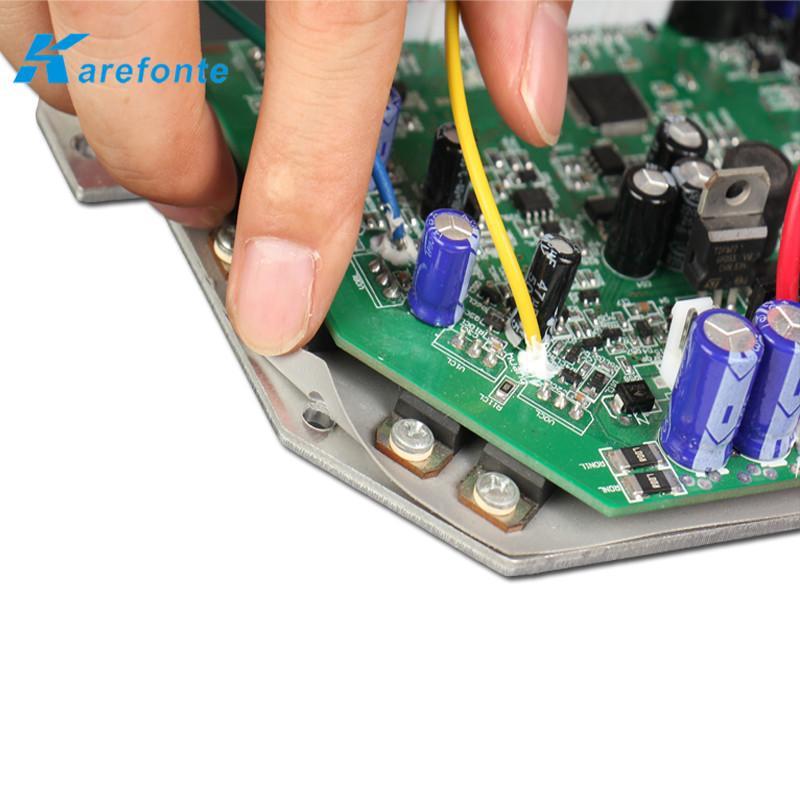 導熱矽膠片95*145*0.3MM 扭扭車矽膠片 硅膠軟墊片 散熱絕緣布 3