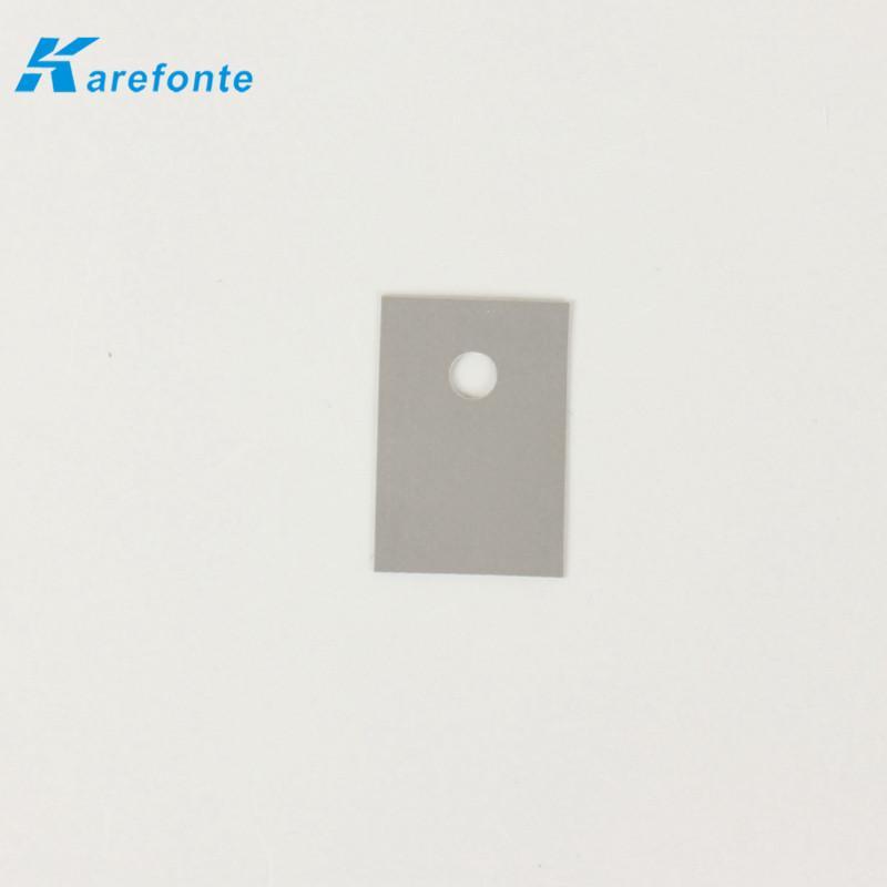 现货供应TO-3P导热矽胶片 导热片 散热矽胶片20*25 *0.3mm 硅胶片 有孔 3