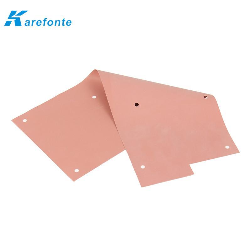 导热矽胶片 硅胶散热片 绝缘硅胶片  2