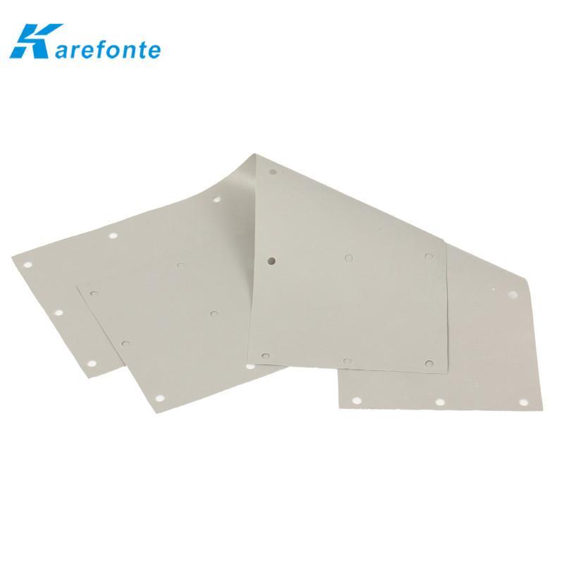 导热矽胶片 硅胶散热片 绝缘硅胶片  3
