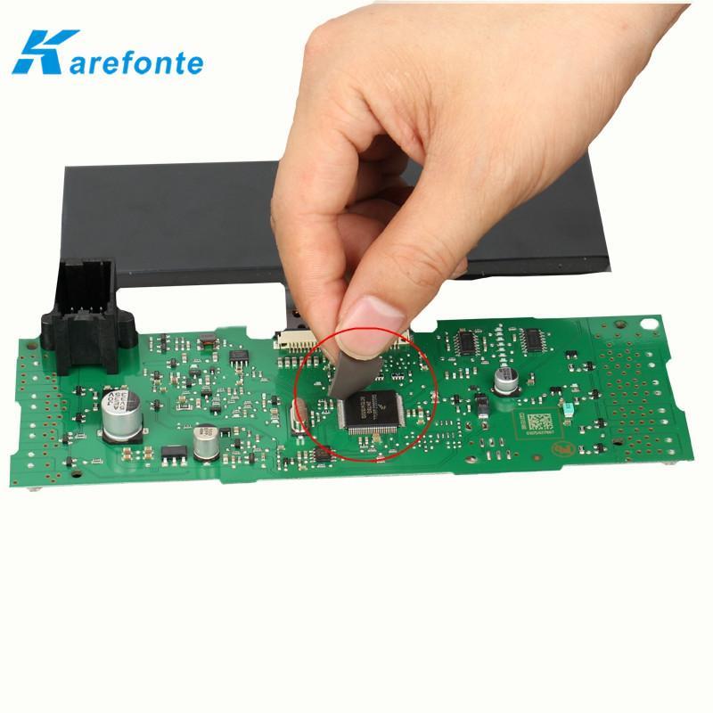 汽车发动机模块散热硅胶片 高导热硅胶片 硅胶垫片 4