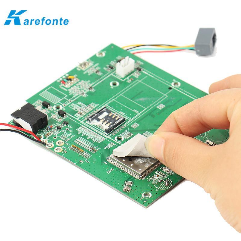 PCB模組散熱間隙填充硅膠片、LED絕緣硅膠墊片、CPU高導熱硅膠片 2