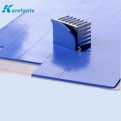 高导热硅胶片 散热贴片 散热硅胶片 导热硅胶垫片0.3mm* 200mm*400mm