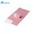 Factory Customized Size Thermal Conductive Silicone Pad Coated Fiberglass