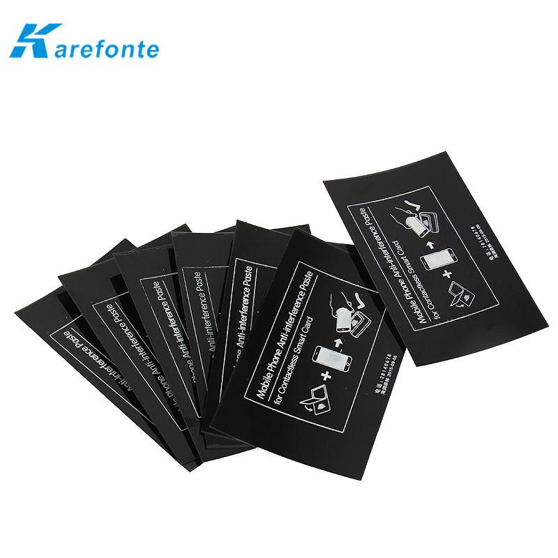 智能手機非接觸式智能卡抗干擾防磁貼片鐵氧體防磁貼 2