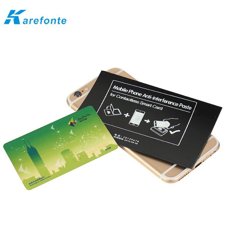 智能手機非接觸式智能卡抗干擾防磁貼片鐵氧體防磁貼 4