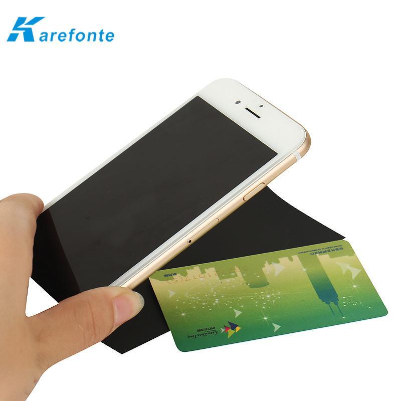 Flexible150μ' Phone Battery Signal Shielding Material  NFC Ferrite Sheet 3