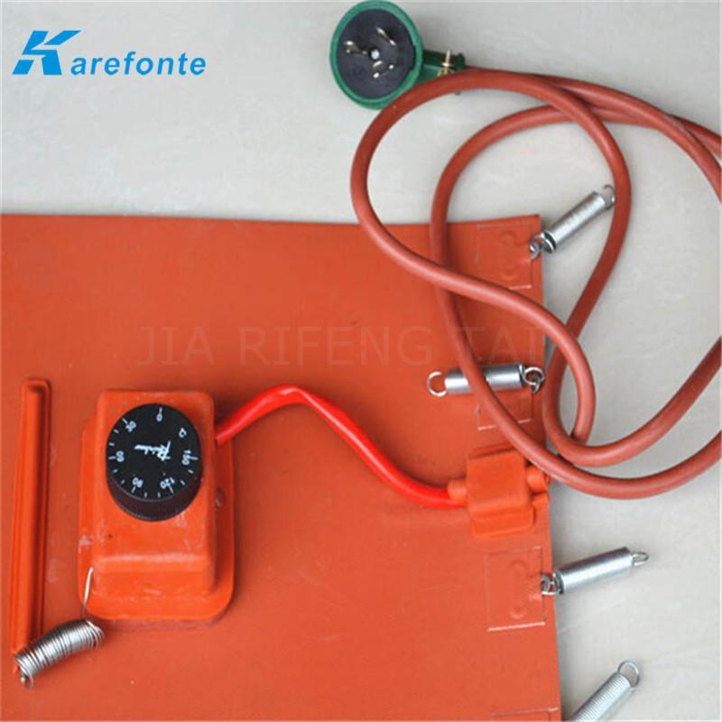 定做硅膠加熱板 帶溫控硅膠加熱器 硅膠加熱膜 2