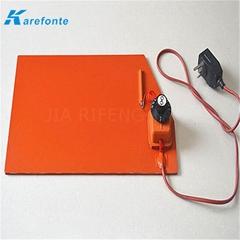定做硅膠加熱板 帶溫控硅膠加熱器 硅膠加熱膜