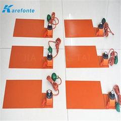 硅橡膠電加熱膜 硅膠加熱片 硅橡膠加熱片